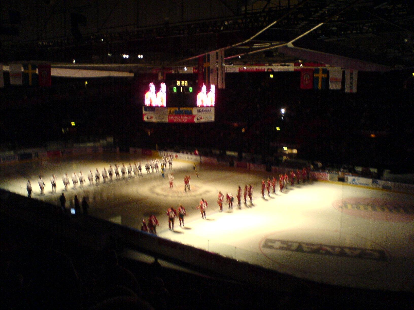 Hockey: Frölunda - Lule, 8-2
